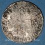 Monnaies Louis XIV (1643-1715). Monnayage particulier de Strasbourg. XVI deniers de Strasbourg 1701 BB