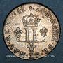 Monnaies Louis XIV (1643-1715). Pièce de 15 deniers 1711 AA. Metz