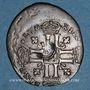 Monnaies Louis XIV (1643-1715). Sol de 15 deniers contremarqué d'une fleur de lis