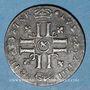 Monnaies Louis XIV (1643-1715). Sol de 15 deniers ou quinzain aux 8 L 1693 &. Aix