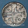 Monnaies Louis XIV (1643-1715). Sol de 15 deniers ou quinzain aux 8 L 1695 &. Aix
