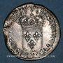 Monnaies Louis XIV (1643-1715). Sol de 15 deniers surfrappé sur un ancien flan 1693D. Lyon