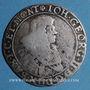 Monnaies Louis XIV (1673-1715). Monnayage particulier Strasbourg. 37 sols contremarqué  /1/3 taler Saxe 1668