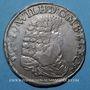 Monnaies Louis XIV (1673-1715). Monnayage particulier Strasbourg, 37 sols contremarqué /2/3 taler Brandebourg