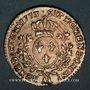 Monnaies Louis XV (1715-1774). 1/10 d'écu à la vieille tête 1773 AA. Metz