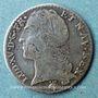 Monnaies Louis XV (1715-1774). 1/10 écu au bandeau 1751 S. Reims