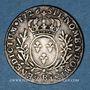 Monnaies Louis XV (1715-1774). 1/10 écu aux lauriers 1726 B. Rouen