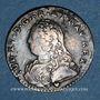 Monnaies Louis XV (1715-1774). 1/10 écu aux lauriers 1726 &. Aix