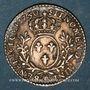Monnaies Louis XV (1715-1774). 1/10 écu aux lauriers 1730 AA. Metz