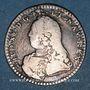 Monnaies Louis XV (1715-1774). 1/10 écu aux lauriers 1730. Besançon