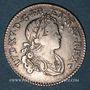 Monnaies Louis XV (1715-1774). 1/10 écu de France-Navarre 1718 BB. Strasbourg