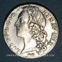 Monnaies Louis XV (1715-1774). 1/2 écu au bandeau 1741 S. Reims