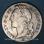 Monnaies Louis XV (1715-1774). 1/2 écu au bandeau 1742 AA. Metz