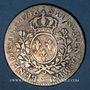 Monnaies Louis XV (1715-1774). 1/2 écu au bandeau 1748 W. Lille