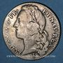 Monnaies Louis XV (1715-1774). 1/2 écu au bandeau 1748W. Lille