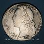 Monnaies Louis XV (1715-1774). 1/2 écu au bandeau 1760 &. Aix