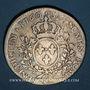 Monnaies Louis XV (1715-1774). 1/2 écu au bandeau 1760&. Aix