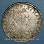 Monnaies Louis XV (1715-1774). 1/2 écu aux 8 L 1725 T. Nantes