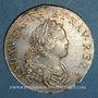 Monnaies Louis XV (1715-1774). 1/2 écu de France-Navarre 1719 S. Reims