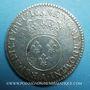 Monnaies Louis XV (1715-1774). 1/2 écu vertugadin 1716 A. 1er semestre. Réformation
