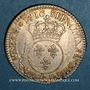 Monnaies Louis XV (1715-1774). 1/2 écu vertugadin 1716 A. Réformation