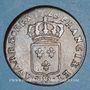 Monnaies Louis XV (1715-1774). 1/2 sol au buste enfantin 1720/19 AA. Metz