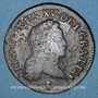 Monnaies Louis XV (1715-1774). 1/2 sol au buste enfantin 1720 S. Reims