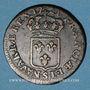 Monnaies Louis XV (1715-1774). 1/2 sol au buste enfantin 1721S. Reims