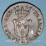 Monnaies Louis XV (1715-1774). 1/2 sol d'Aix 1767 &