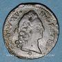 Monnaies Louis XV (1715-1774). 1/2 sol d'Aix 1771 &