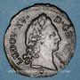 Monnaies Louis XV (1715-1774). 1/2 sol d'Aix 1772 &