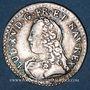 Monnaies Louis XV (1715-1774). 1/20 écu daux lauriers 1727BB. Strasbourg