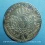 Monnaies Louis XV (1715-1774). 1/5 d'écu au bandeau 1750 A