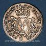 Monnaies Louis XV (1715-1774). 1/5 écu à la vieille tête 1774BB. Strasbourg