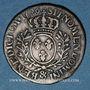 Monnaies Louis XV (1715-1774). 1/5 écu aux lauriers 1726 &. Aix