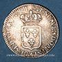 Monnaies Louis XV (1715-1774). 1/6 écu de France 1721 A. Réformation