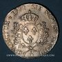 Monnaies Louis XV (1715-1774). Ecu à la vieille tête 1772 D. Lyon
