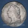 Monnaies Louis XV (1715-1774). Ecu à la vieille tête 1772 I. Limoges