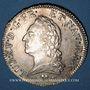 Monnaies Louis XV (1715-1774). Ecu à la vieille tête 1773 L. Bayonne