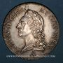 Monnaies Louis XV (1715-1774). Ecu à la vieille tête 1774 A