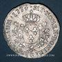 Monnaies Louis XV (1715-1774). Ecu à la vieille tête 1774 &. Aix