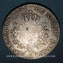 Monnaies Louis XV (1715-1774). Ecu au bandeau 1741 AA. Metz. Environ 3 672 exemplaires !
