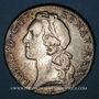 Monnaies Louis XV (1715-1774). Ecu au bandeau 1744 &. Aix