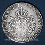 Monnaies Louis XV (1715-1774). Ecu au bandeau 1757 A