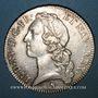 Monnaies Louis XV (1715-1774). Ecu au bandeau 1762 A. 1er semestre
