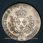 Monnaies Louis XV (1715-1774). Ecu au bandeau 1762A. 1er semestre