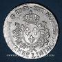 Monnaies Louis XV (1715-1774). Ecu au bandeau 1763 L. Bayonne