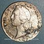 Monnaies Louis XV (1715-1774). Ecu au bandeau de Béarn 1761. Pau