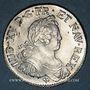 Monnaies Louis XV (1715-1774). Ecu aux 8 L 1725 V. Troyes