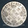 Monnaies Louis XV (1715-1774). Ecu aux 8 L 1725V. Troyes